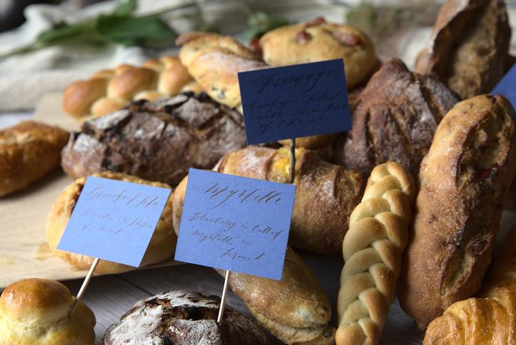 ハード系のパンを得意とするシェフ