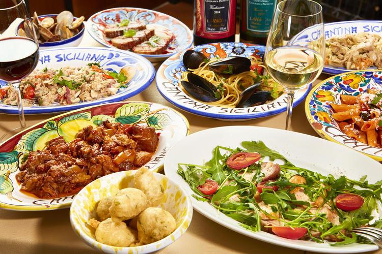 様々なイタリア料理を学べます!!