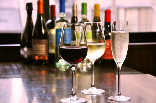 提供しているワインにもこだわっています♪
