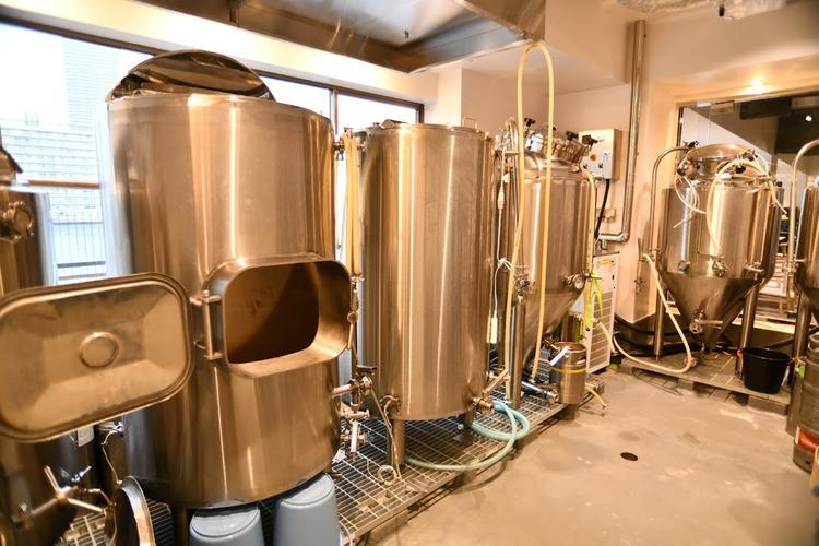 3階のビール工房がこちら◎