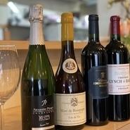 フランスワインを中心に80種類ご用意