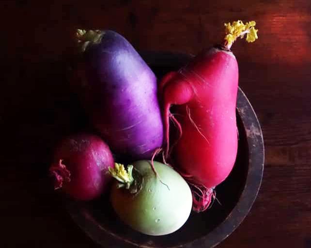 農家から直接仕入れる無農薬野菜