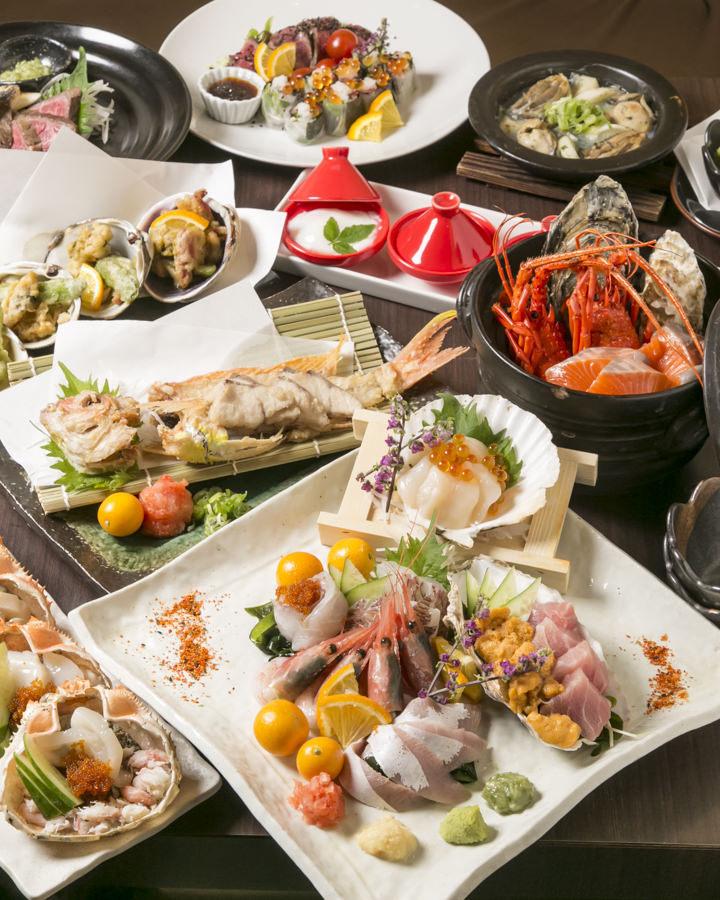 毎朝仕入れる鮮魚はその時点で逸品!