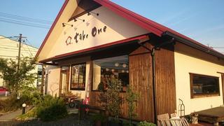 赤い屋根のカフェ take one
