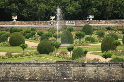 シュノンソー城庭園