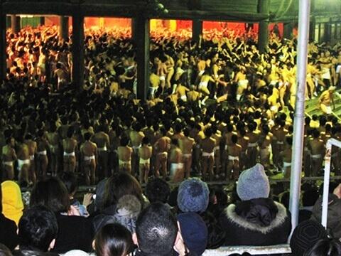 西大寺会陽 裸祭