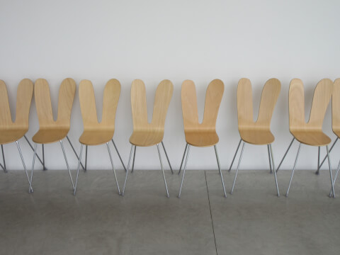 金沢21世紀美術館 椅子