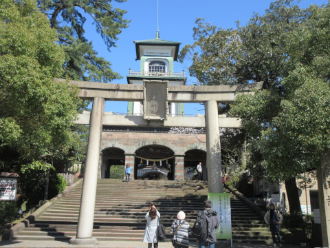 神門 尾山神社