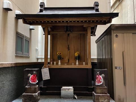 花房稲荷神社_社殿
