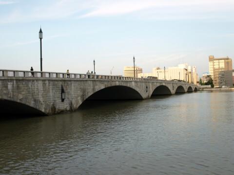 新潟市萬代橋