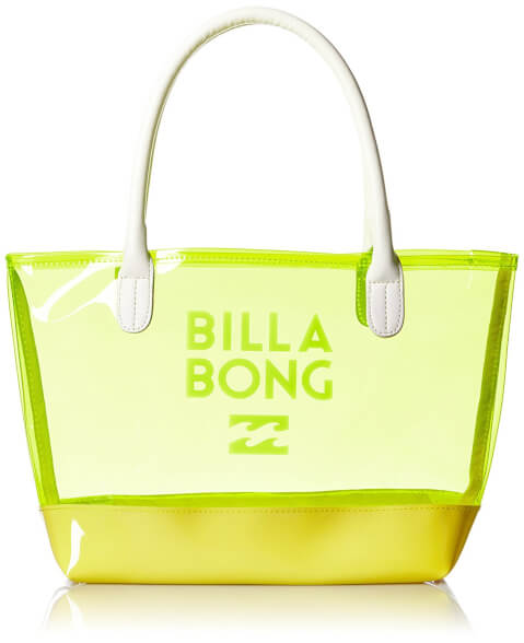 ビラボンビニールバッグ