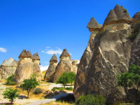 カッパドキア トルコ 絶景 妖精の煙突