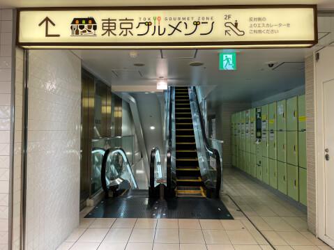 東京駅構内のコインロッカー