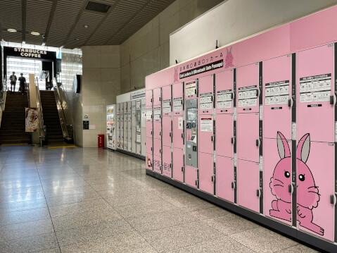 スターバックス コーヒー JR東京駅日本橋口店付近コインロッカー