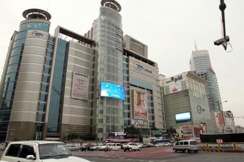 東大門市場:ファッションビル