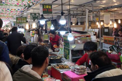 広蔵市場(クァンジャンシジャン:광장시장)