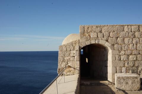 Dubrovnik_SeaViewFromFortLovrijenac