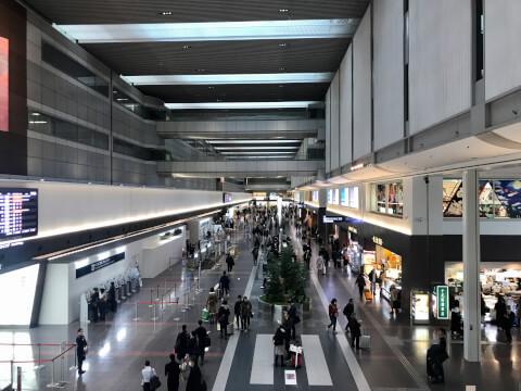 羽田空港第1ターミナル_飛行機