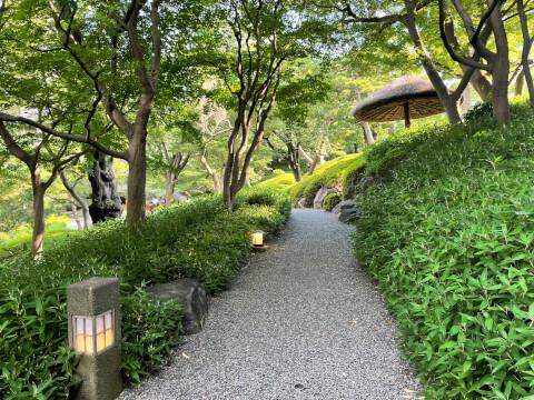 八芳園_庭園