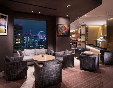 ANAインターコンチネンタルホテル東京 ラウンジ