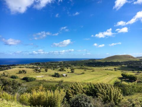 イースター島の風景