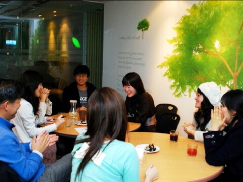韓日交流会の様子:トトロハウス