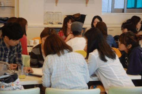 韓日交流会の様子:カケハシ