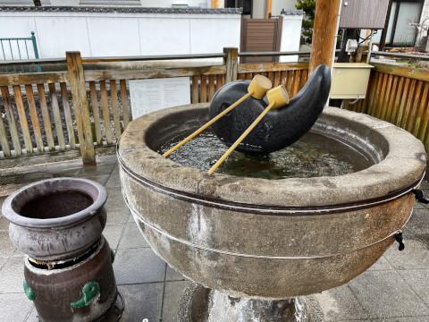 湯薬師広場_たらい湯