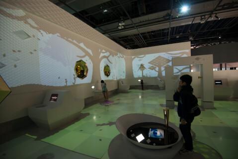 日本科学未来館-体験型展示