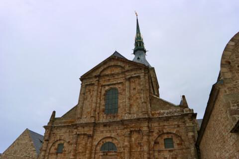 モンサンミッシェル修道院-ラメルヴェイユ