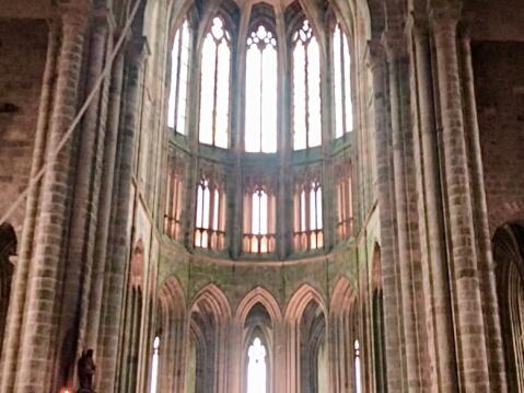 モンサンミッシェル修道院-付属教会