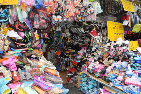 南大門市場(ナンデムンシジャン)の雑貨