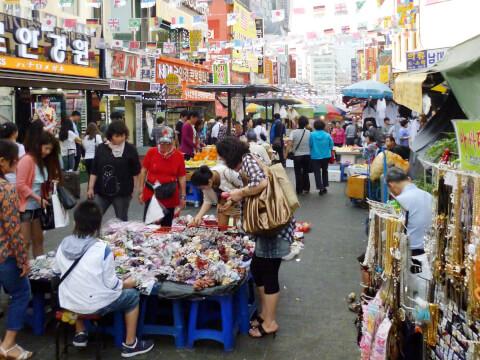 何でもそろっている大市場:南大門市場
