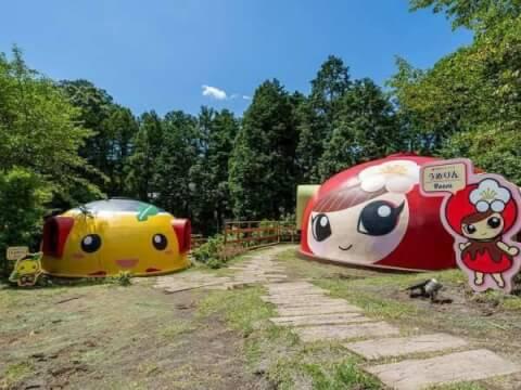 O-ParkOGOSEドームテント