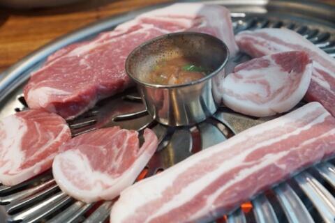 サムギョプサル 三枚肉