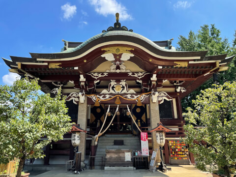 新宿諏訪神社