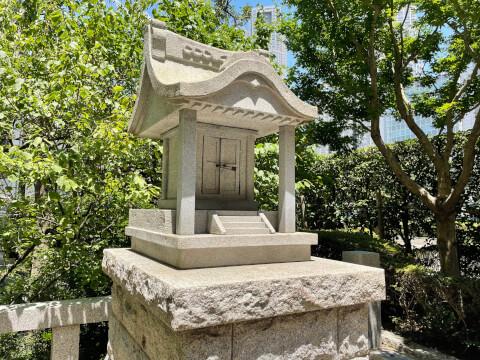 銀世界神社の祠