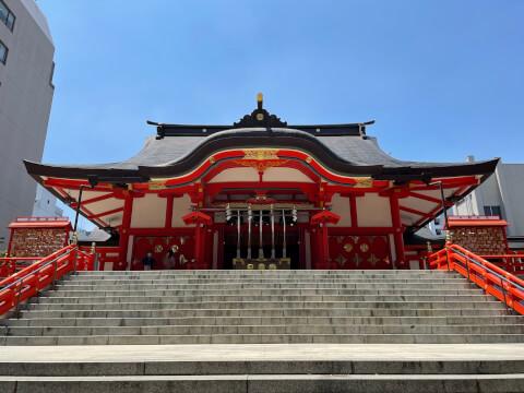 花園神社_社殿