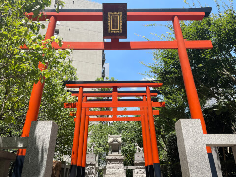 銀世界稲荷神社