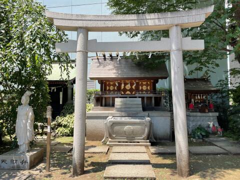 成子天神社の境内社
