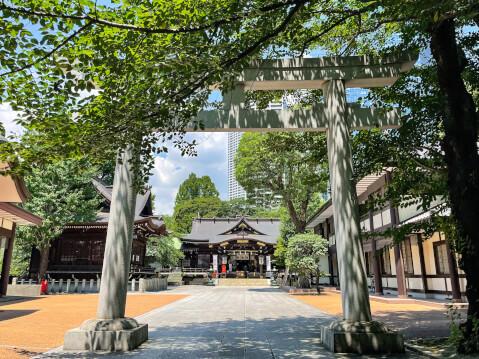 熊野神社(十二社熊野神社)