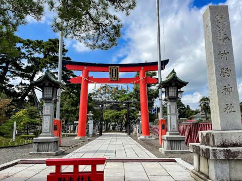 竹駒神社_鳥居