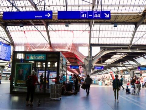 チューリッヒ-中央駅