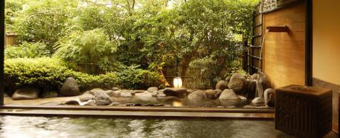 修善寺温泉湯回廊菊屋の露天風呂