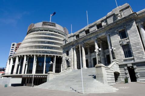 ニュージーランドのおすすめ観光スポット、国会議事堂
