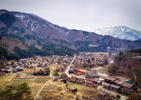 白川郷 展望台