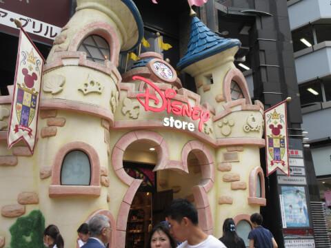 ディズニーストア 渋谷