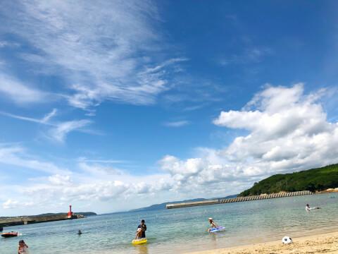 網地白浜海水浴場