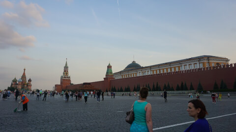 赤の広場 Красная площадь ロシア 観光