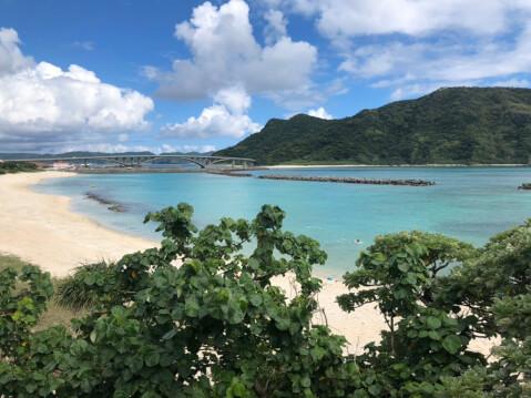前浜ビーチ-代替テキスト